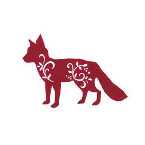 Holiday Fox by Janice Gaynor