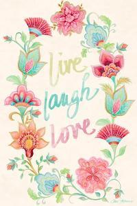 Live Laugh Love Wreath by Janice Gaynor