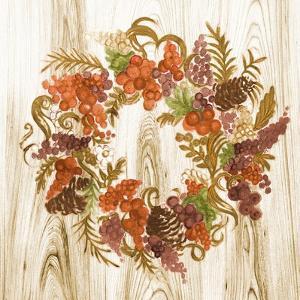 Metallic Wreath by Janice Gaynor