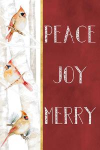Peace Joy Merry by Janice Gaynor