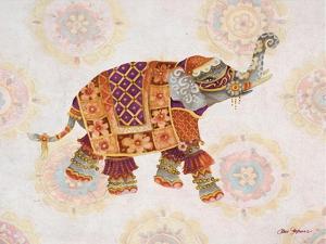 Pink Elephant I by Janice Gaynor