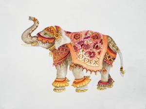 Pink Elephant II by Janice Gaynor