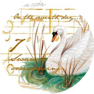 Seven Swans a-Swimming by Janice Gaynor