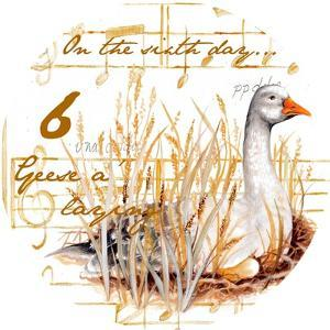 Six Geese a-Laying by Janice Gaynor