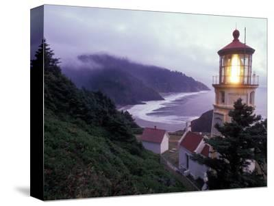 Foggy Day at the Heceta Head Lighthouse, Oregon, USA