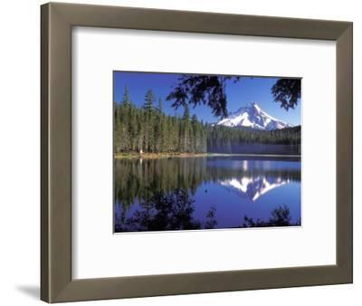 Mt. Hood Reflected in Frog Lake, Oregon, USA