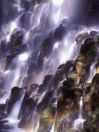 Romona Falls in Mt. Hood, Oregon Cascades, USA