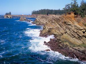 Shore Acres State Park, Oregon Coast, USA by Janis Miglavs