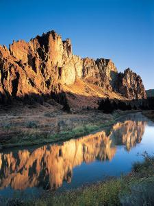 Smith Rock, Oregon, USA by Janis Miglavs