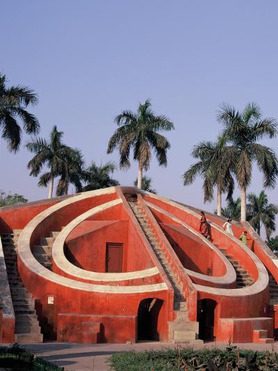 Jantar Mantar Observatory in Delhi, India--Photographic Print