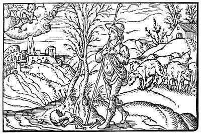 January, 1597--Giclee Print