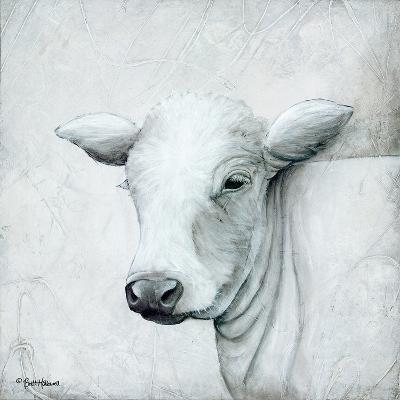 January Cow II-Britt Hallowell-Art Print