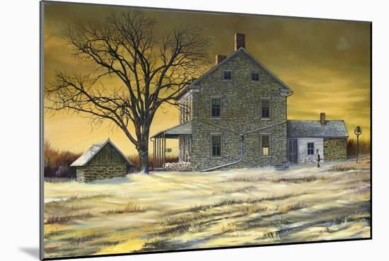 January Evening-Jerry Cable-Mounted Premium Giclee Print