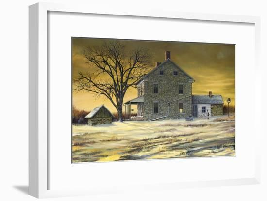January Evening-Jerry Cable-Framed Giclee Print