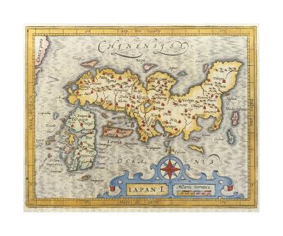 Japan, 1616-Petrus Bertius-Premium Giclee Print