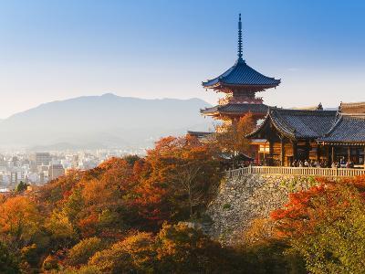 Japan, Honshu, Kansai Region, Kiyomizu-Dera-Gavin Hellier-Photographic Print