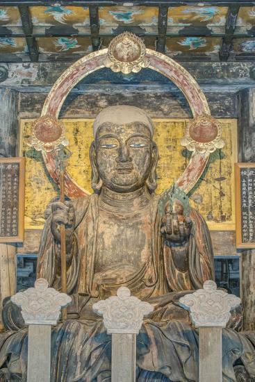 Japan, Kanagawa, Kamakura, Kenchoji Temple Buddha-Rob Tilley-Photographic Print