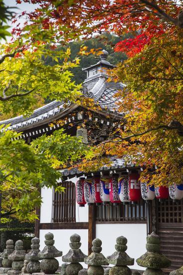 Japan, Kyoto, Arashiyama, Adashino Nenbutsu-Ji Temple-Jane Sweeney-Photographic Print