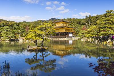 Japan, Kyoto, Kinkaku-Ji, -The Golden Pavilion Officially Named Rokuon-Ji-Jane Sweeney-Photographic Print