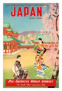 Japan - Spring in Kyoto - Pan American World Airways (PAA)