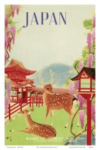 Japan - Todaiji Great Eastern Temple - Nara Temple Deer
