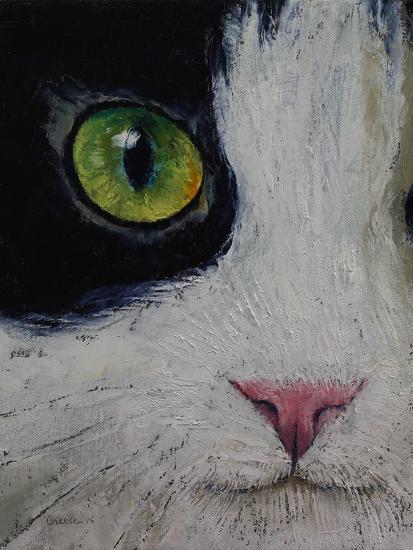 Japanese Bobtail Cat-Michael Creese-Art Print