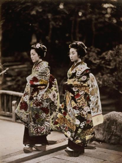 Japanese Costumes, 1880s--Giclee Print
