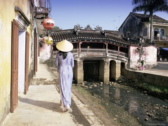 Japanese Covered Bridge, Hoi An, Central Vietnam, Vietnam, Indochina, Southeast Asia, Asia-Gavin Hellier-Photographic Print