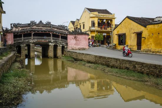Japanese Covered Bridge, Hoi An, UNESCO World Heritage Site, Vietnam, Indochina-Yadid Levy-Photographic Print
