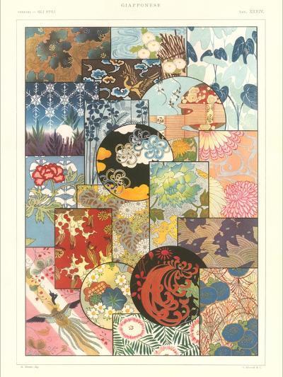 Japanese Design Motifs--Art Print