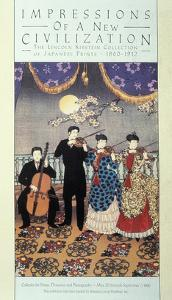 European Influence on Music (Coloured Litho) by Japanese