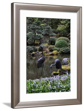 Japanese Gardens V-Brian Moore-Framed Photographic Print
