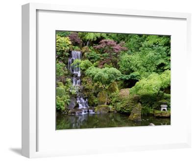 Japanese Gardens Washington Park Portland Oregon, USA