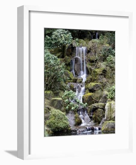 Japanese Gardens-Rick Bowmer-Framed Photographic Print