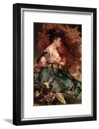 Japanese Girl-Hans Makart-Framed Giclee Print
