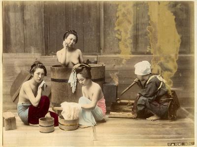Japanese Home Bath--Photographic Print