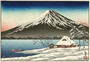 Japanese House and Volcano