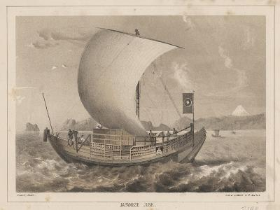 Japanese Junk, 1855- Meffert-Giclee Print