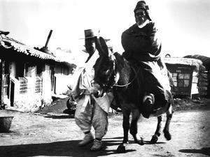 Japanese Officials, Korea, 1900