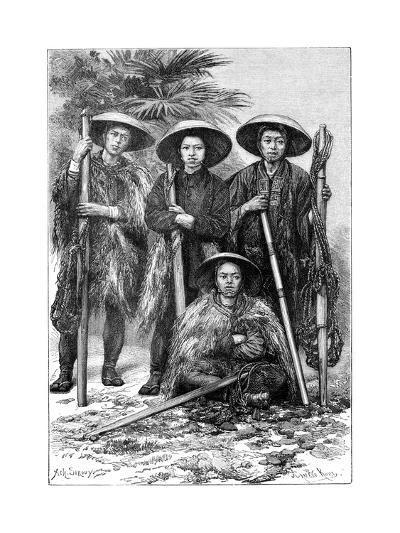 Japanese Peasants, 1895-Armand Kohl-Giclee Print