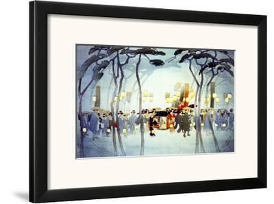 Japanese Procession--Framed Giclee Print