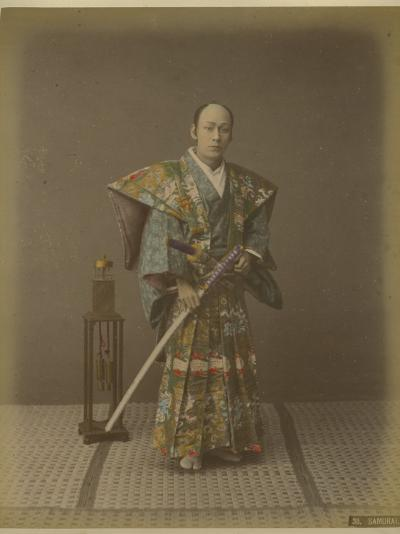 Japanese Samurai--Photographic Print