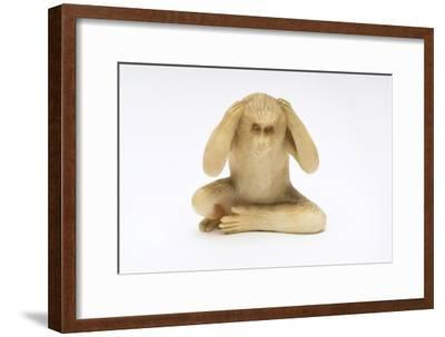 Hear No Evil, One of the Three Wise Monkeys