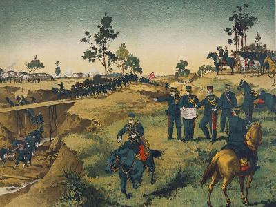 Japanese Troops Assault Japanese in China--Art Print