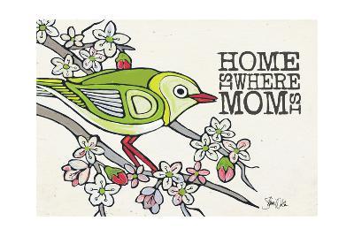 Japanese White Eye Mother's Day-Shanni Welsh-Art Print