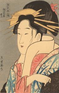 Japanese Woodblock, Lady's Portrait