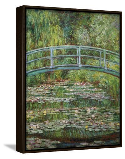 Japanische Bruecke, 1899-Claude Monet-Framed Canvas Print