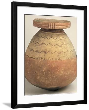 Jar from Takakura-Cho, Atsuta-Ku, Nagoya-Shi, Aichi, Yayoi Period, 1st-3rd Century--Framed Photographic Print