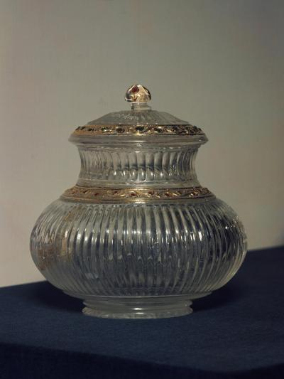 Jar with Lid, Crystal, Mughal Dynasty, Indian Civilization--Giclee Print