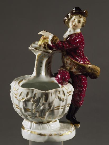 Jar with Male Figure, Circa 1750--Giclee Print